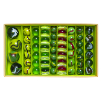 Coffret de 68 Billes Dragon - Jade