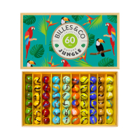 Coffret de 60 Billes - Jungle
