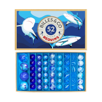 Coffret de 52 Billes - Requins