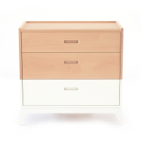 Commode 3 tiroirs New Horizon - Blanc