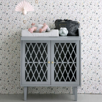 Commode à langer Harlequin - Gris clair