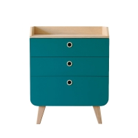 Commode Zen - Bleu canard