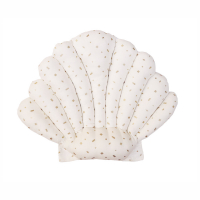 Coussin Coquillage Confetti - Blanc