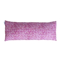 Coussin long bicolore Diabolo - Rose