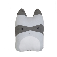 Coussin Rascal Racoon - Gris