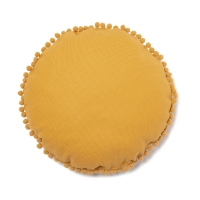 Coussin soleil Sunny pompon farniente yellow - Jaune