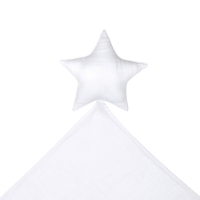 Doudou étoile Lovely Star - Blanc