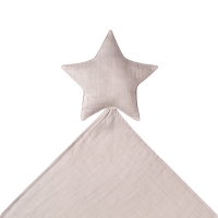 Doudou étoile Lovely Star powder - Rose poudré