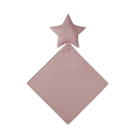 Doudou étoile Lovely Star dusty pink - Vieux rose