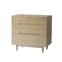 Commode 4 tiroirs Pure - Naturel