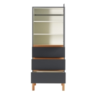 Armoire 1 porte Indigo - Moon shadow