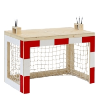 Bureau Cage de foot Jan - Rouge