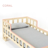 Lit junior Lukaas - Corail