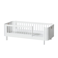 Lit junior Wood Mini+ - Blanc