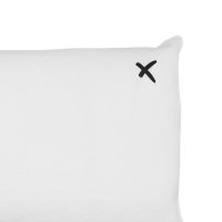 Coussin XL rectangulaire Lovers blanc