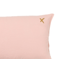 Coussin XL rectangulaire Lovers blush - Rose