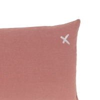 Coussin XL rectangulaire Lovers rosebud - Rose
