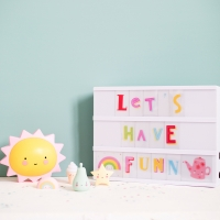 Set de lettres Funky Colour - Multicolore