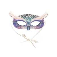 Masque enfants Woodland My Owl Purple - Violet