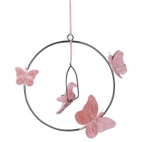 Mobile Bohemian Swing dusty pink - Vieux rose