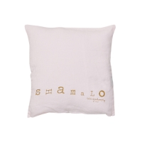 Petit coussin carré Molly shamalo - Rose