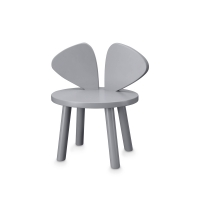 Chaise enfant Mouse - Gris