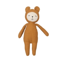 Doudou ours Buddy Bear - Ocre