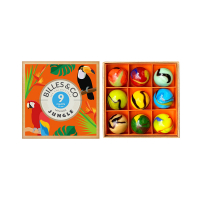 Petit Coffret de 9 Calots - Jungle