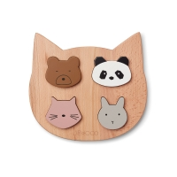 Puzzle en bois chat Lulu Girl Mix