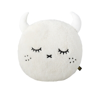 Coussin rond Ricepuffy - Blanc