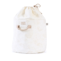 Sac de rangement Bamboo L bubble Elements - Blanc