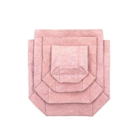 Sac en papier S, M, L ou XL - Rose Quartz