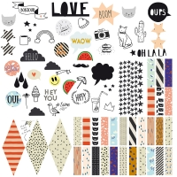 Sticker Happy Pin Board