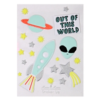 Stickers Out of this world 3D