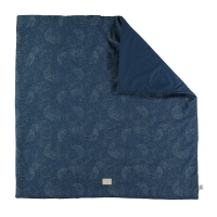 Tapis Colorado bubble Elements pour tipis - Bleu marine
