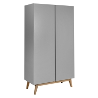 Armoire 2 portes Trendy - Griffin grey