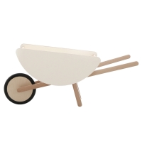 Brouette enfant Toy Wheelbarrow - Blanc