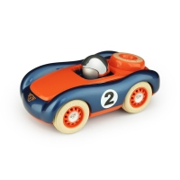 Voiture de course Verve Viglietta Jesper - Bleu/Orange