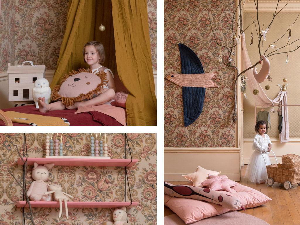 Guide déco - Une chambre fille vintage