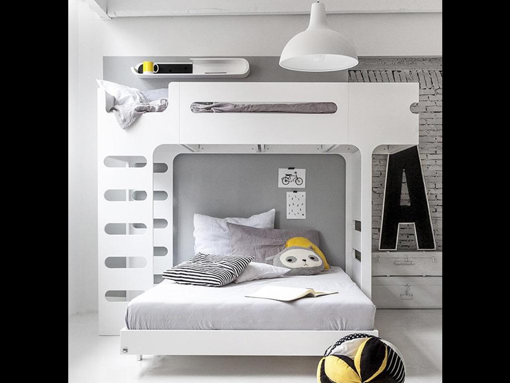 Lit Superpose Design Guide Deco Une Chambre D Enfant Partagee