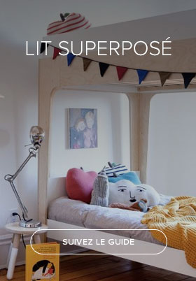 Lit superposé design