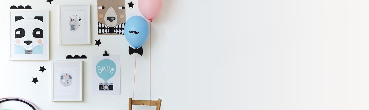 Affiche circus bruno seventy tree pour chambre enfant les enfants du design - Les enfants du design ...